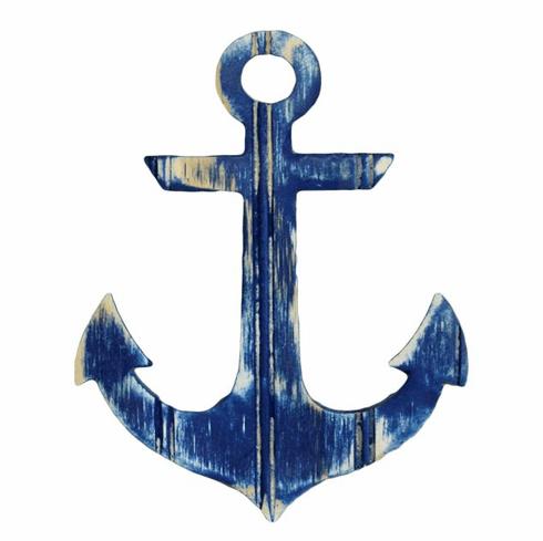 Large Navy Anchor