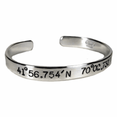 Latitude and Longitude Jewelry