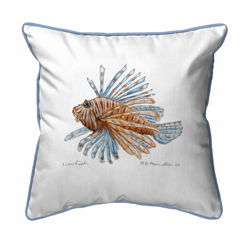 Lion Fish Indoor and Outdoor Pillow