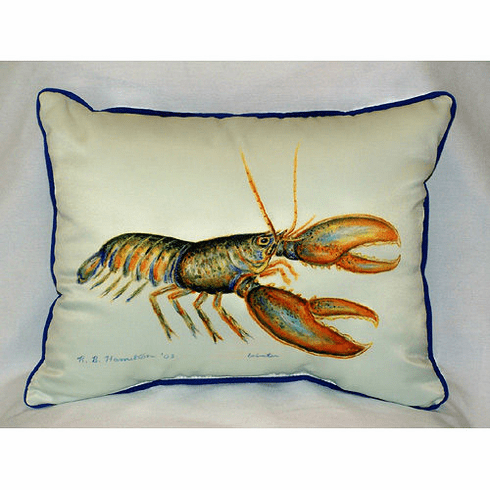 Lobster Indoor and Outdoor Pillow