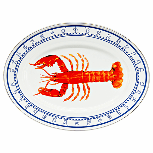 Lobster Oval Platter