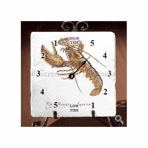 Lobster Tide Clock