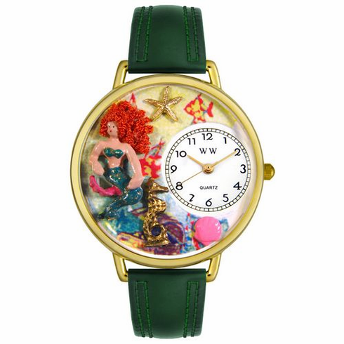 Mermaid Gold Watch<br > Free Shipping!