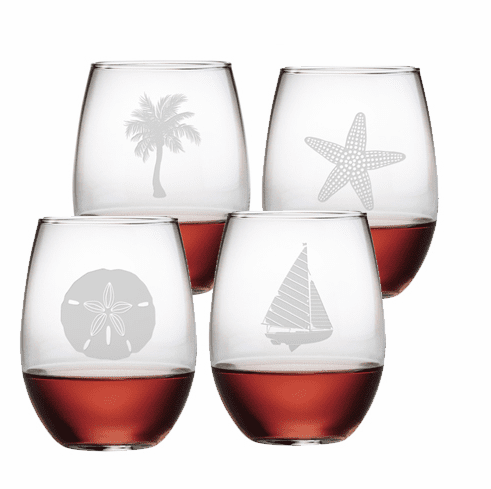 Mix & Match Stemless Wine Glasses