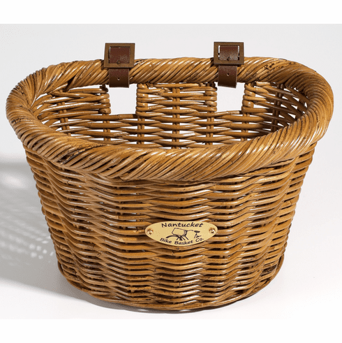 Nantucket Bike Basket Company Cisco Adult D-Shape
