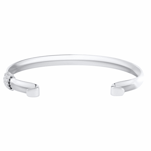 Narrow Convertible Bracelet with Sterling Wrap