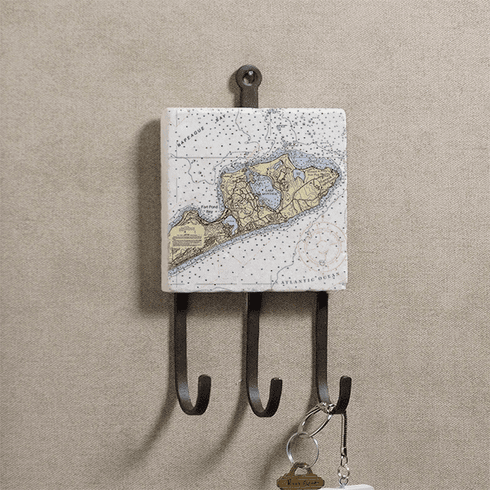 Nautical Chart Key Rack