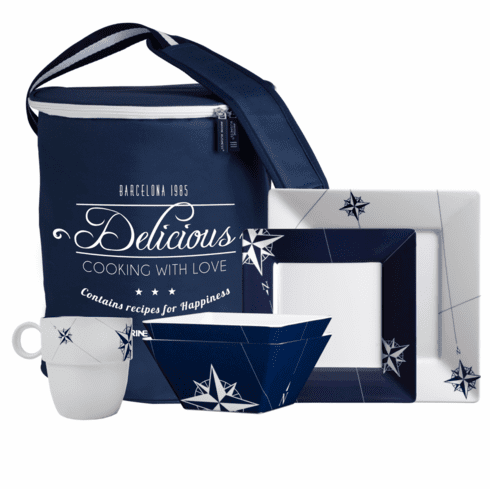 Northwind 24 Piece Square Tableware Pack