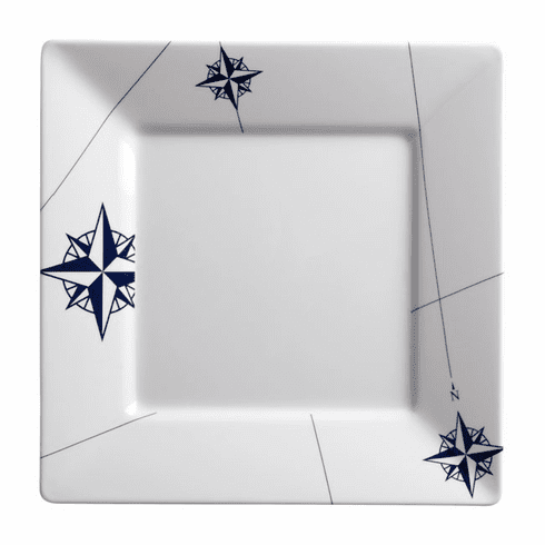 Northwind Square Plate - set of 6