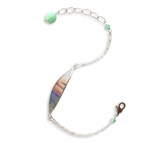 Oh To Be Where The Sky Meets the Sea Bracelet