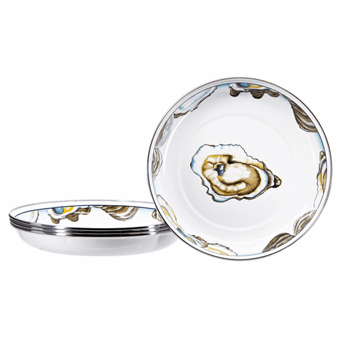 Oyster Pasta Plate - set of 4