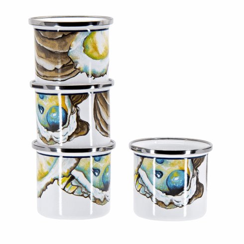 Oyster Shooters - set of 4