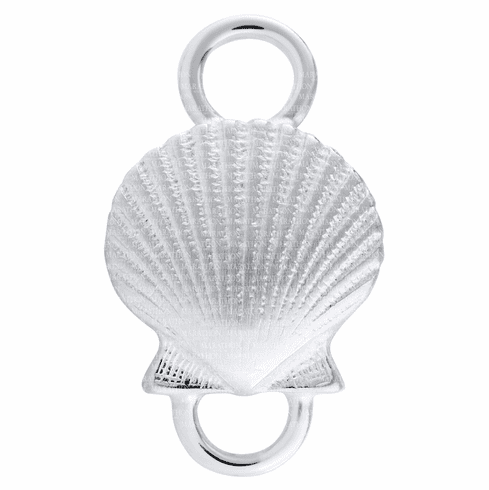 Petite Scallop Sterling Convertible Clasp