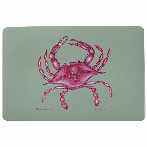 Pink Crab Floor Mat