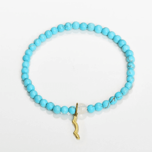 Rayminder UV Awareness Bracelet in Cyan Turquoise