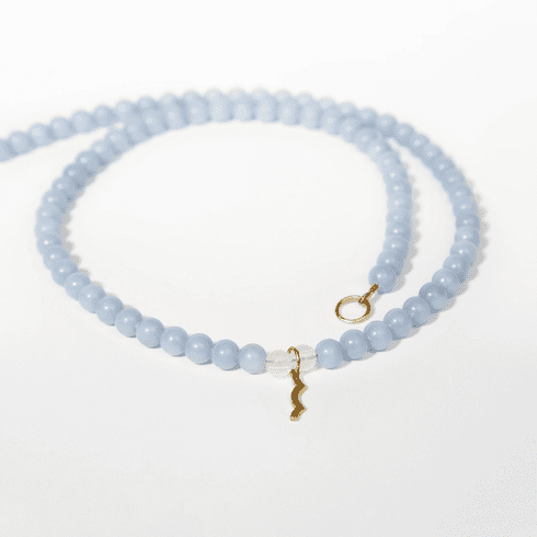 Rayminder UV Awareness Necklace in Angelite