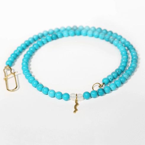 Rayminder UV Awareness Necklace in Turquoise