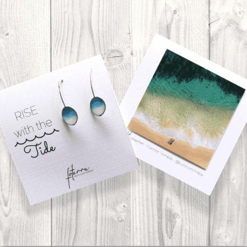 Rise With The Tide Earrings