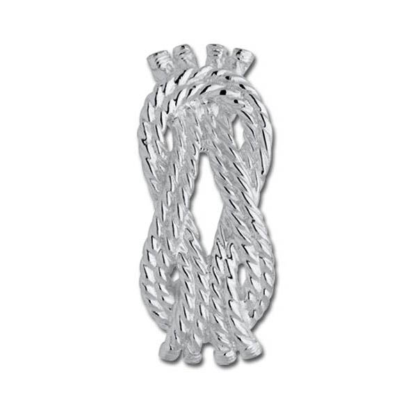 Rope Knot Convertible Clasp - Click to enlarge