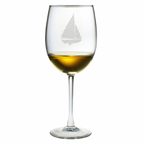 Sailboat AP Wine Glasses