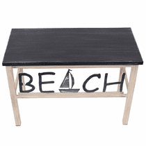 Sailboat Beach Bench
