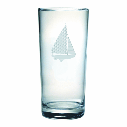 Sailboat Highball Glasses