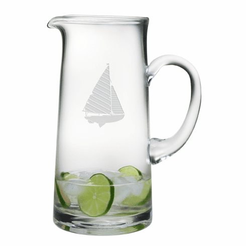 Sailboat Tankard Pitcher