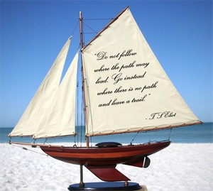 Sailboats with Quotes