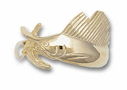 Sailfish Wrap Ring