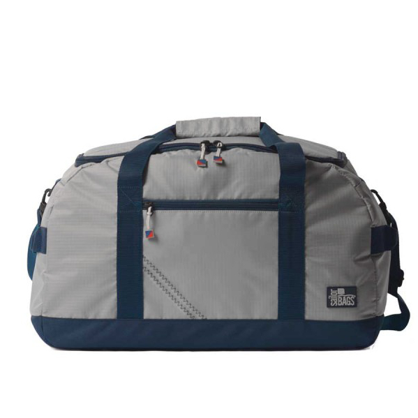 Sailor Bags Silver Spinnaker Racer Duffel - Click to enlarge