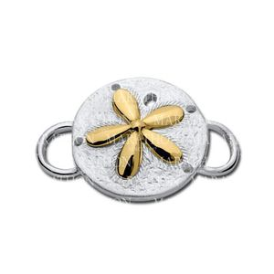 Sand Dollar with 14K Convertible Clasp - Click to enlarge