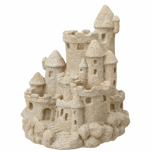 Sandcastle Candle