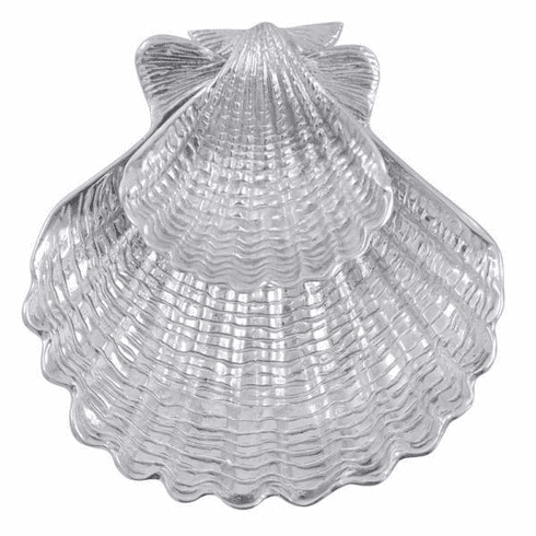 Scallop Shell 2-Piece Chip & Dip Set