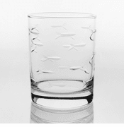School of Fish Double Old Fashion Glasses