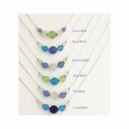 Sea Glass Slide Necklace