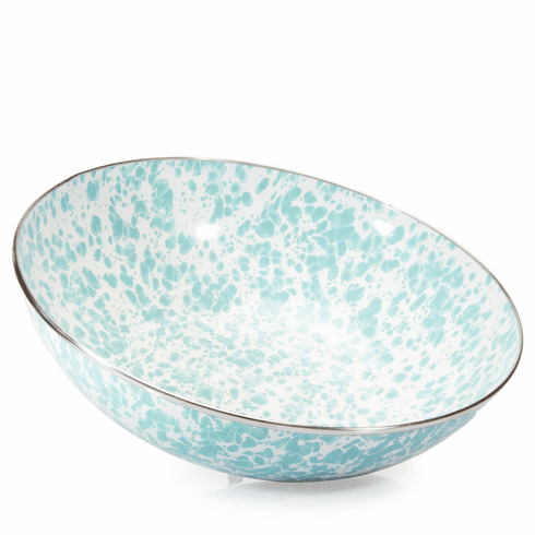 Sea Glass Swirl Catering Bowl