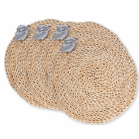 Sea Shell Twisted Seagrass Placemats