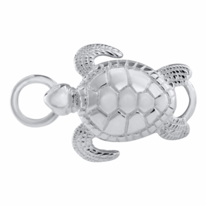 Sea Turtle Sterling Convertible Clasp - Click to enlarge