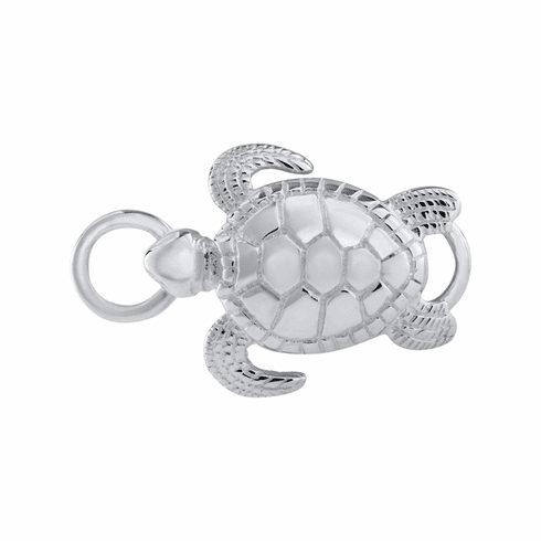 Sea Turtle Sterling Convertible Clasp
