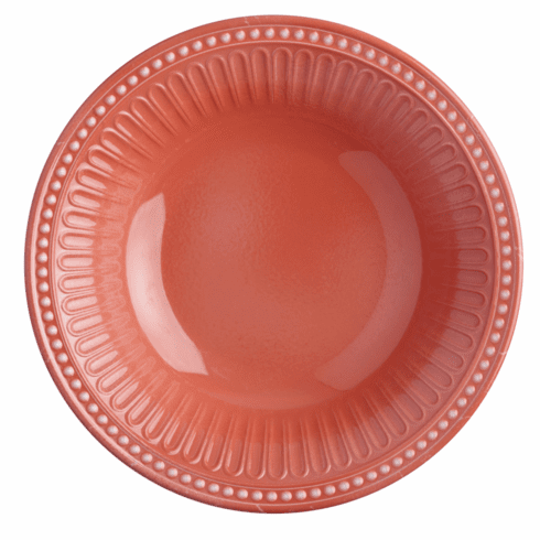 Serenity Coral Deep Plate S/6
