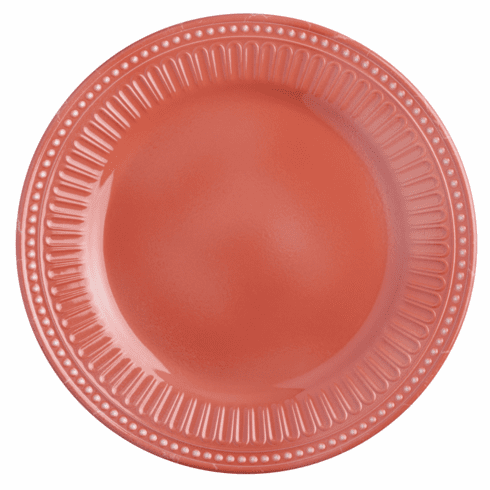 Serenity Coral Dinner Plate S/6