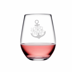 Ship Faced Tritan Shatterproof Stemless Wine Tumblers - Click to enlarge