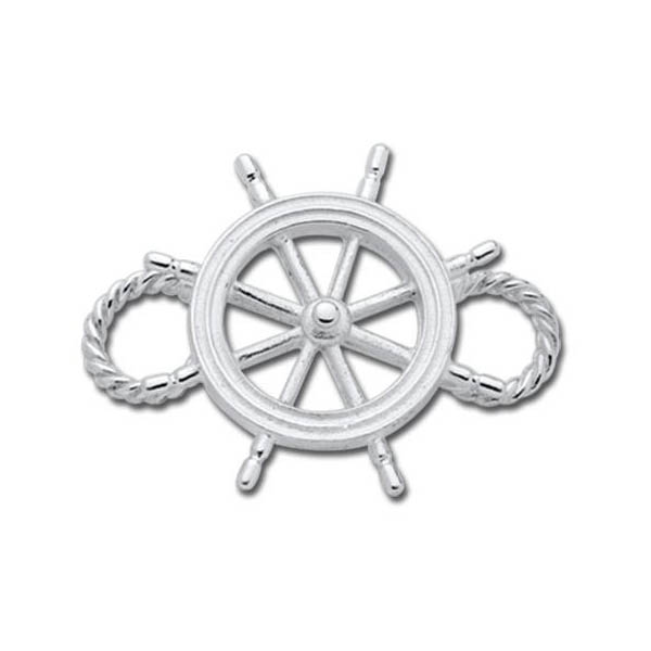 Ship's Wheel Convertible Clasp - Click to enlarge