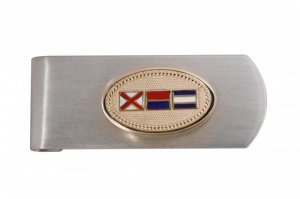 Signal Flag Money Clip