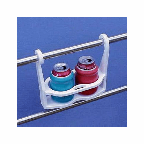 SnapIt Hanging Horizontal Double Drink Holder