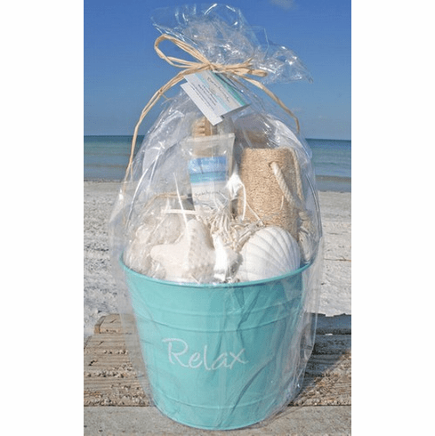 "Spa ""Relax"" Your Feet Beach Bucket"