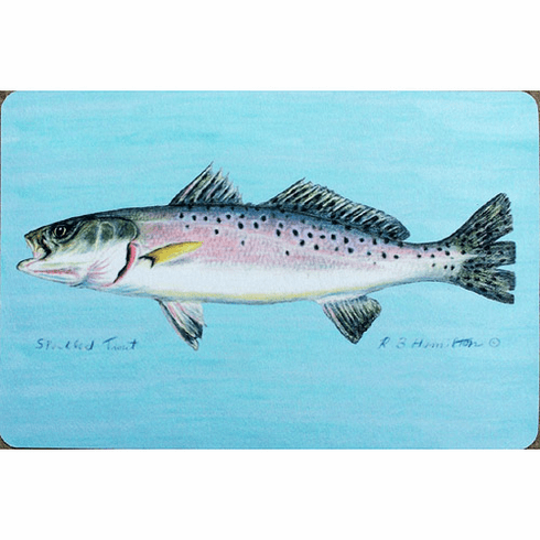 Speckled Trout Floor Mat