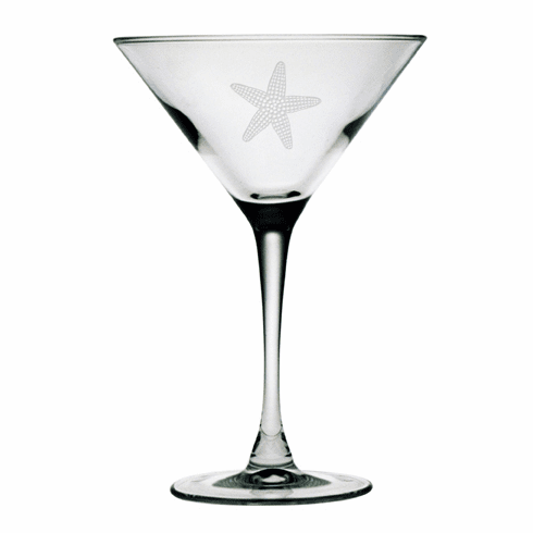 Starfish Martini Glasses