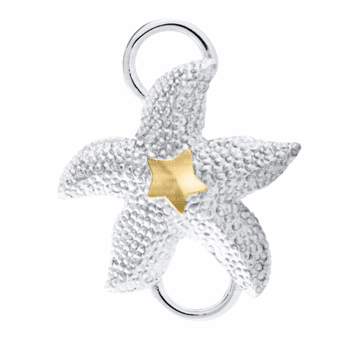 Starfish with 14K Convertible Clasp