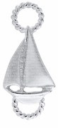 Sterling Petite Sailboat Convertible Clasp